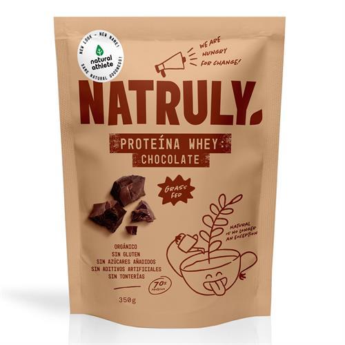 Proteína Whey Chocolate Natruly Bio 350g