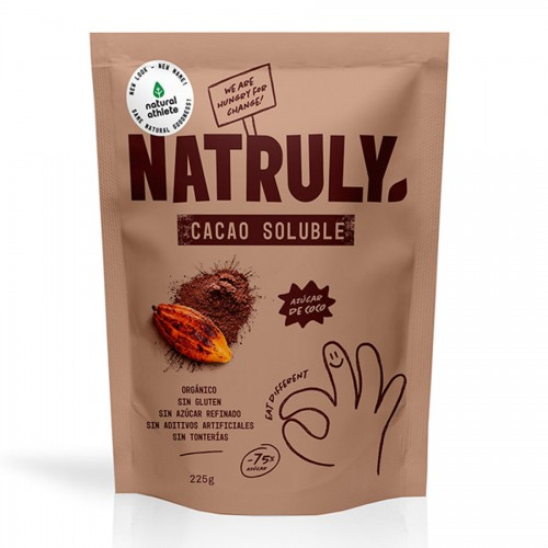 Cacao Soluble Natruly Bio 225g