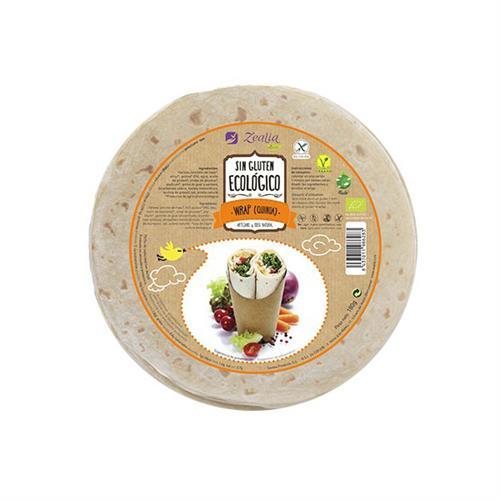 Wrap de Quinoa Sin Gluten Zealia Bio 120g
