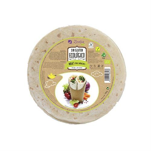 Wrap de Trigo Sarraceno Sin Gluten Zealia Bio 120g