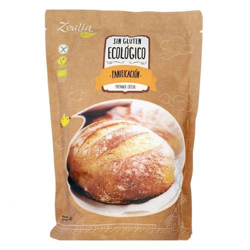 Preparado Panificable Sin Gluten Zealia Bio 400g