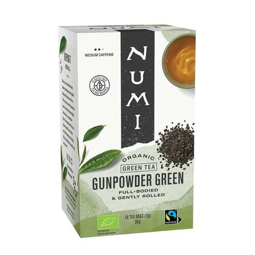 Té Verde Gunpowder Numi Bio 18 bolsas