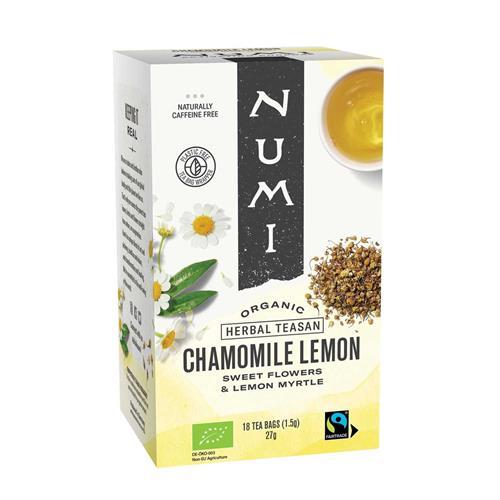 Infusión de Manzanilla y Limón Numi Bio 18 bolsas