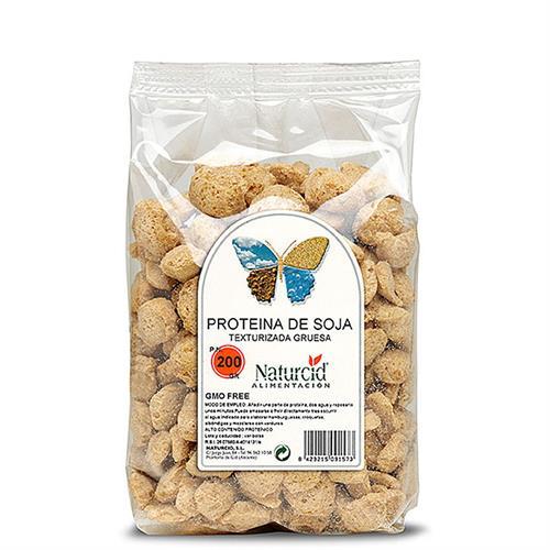 Proteína de Soja Texturizada Gruesa Naturcid 200g