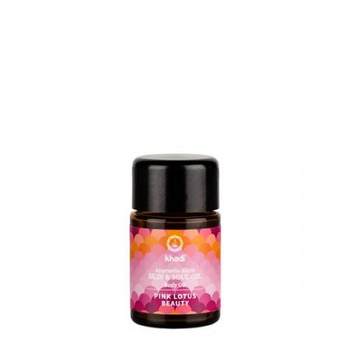 Aceite Loto Rosa Equilibrio Ayurveda Khadi 10ml