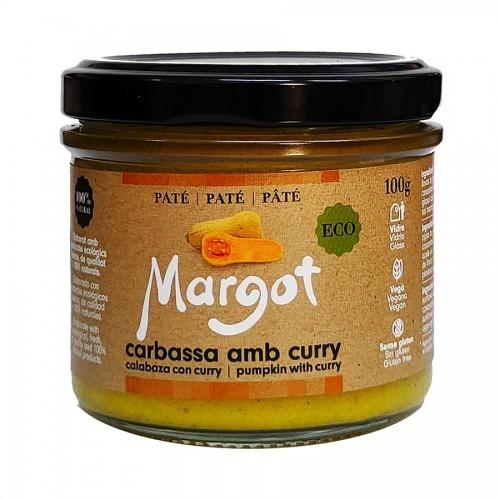 Paté de Calabaza con Curry Margot Bio 100g