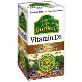 Vitamina D3 GARDEN 60 Cápsulas