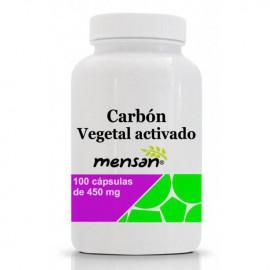 Carbon Vegetal Activado 100 Cápsulas de 450mg