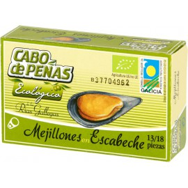 Mejillon en Escabeche con Aceite de Oliva Eco 111g