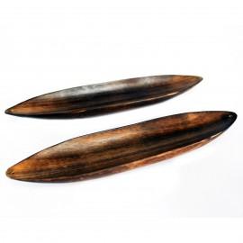 Soporte Incienso Canoa de Madera