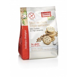 Mini Crackers de Trigo Sarraceno Bio Sin Gluten 100g