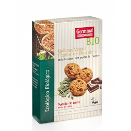 Galletas Vegan con Pepitas de Chocolate Bio 250g