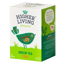 Té Verde Chai Bio 20 bolsas 40g