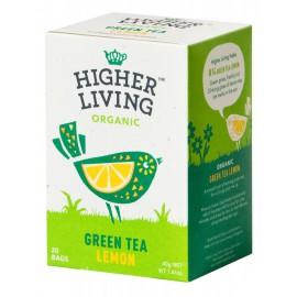 Té Verde con Limón Bio 20 bolsas 40g