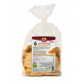 Mini Crackers de Espelta con Cúrcuma y Pimienta Bio 250g