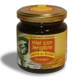 Miel con Jengibre Bio Sierra del Sorbe 250g