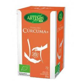 Infusión Cúrcuma Plus Bio Artemis 20 filtros 30g
