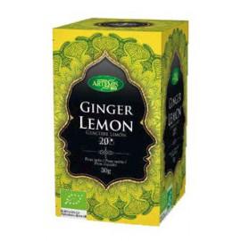 Infusión Ginger Lemón Bio Artemis 20 filtros 30g