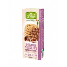 Galletas Placer de Chocolate con Leche y Avellanas Bio 130g