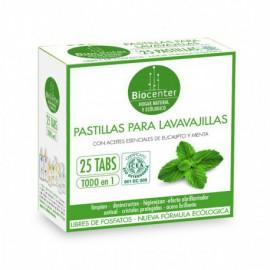 Detergente para Lavavajillas en Pastillas Eucalipto y Menta Bio 25tabs