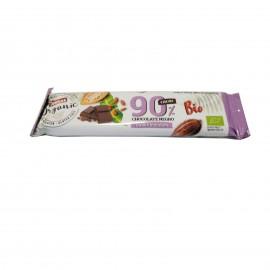 Chocolatina Negro 90 % Cacao Criollo Forastero Bio 25g