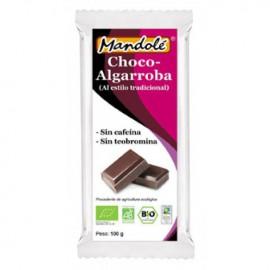 Choco Algarroba sin Cafeina Bio 100g