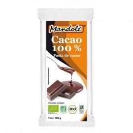 Chocolate Negro 100% Cacao Bio 100g