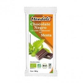 Chocolate Negro 70% con Menta Bio 100g