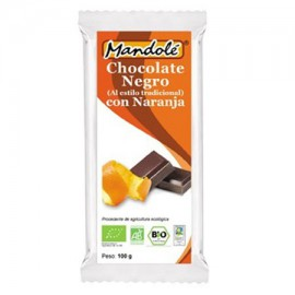 Chocolate Negro 70% con Naranja y Canela Bio 100g