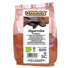 Harina de Algarroba (100% Algarroba) Mandole Bio 375g