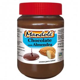 Crema de Chocolate con Almendras Bio 375g