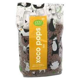 Arroz inflado con chocolate XOCO POPS Bio 300g