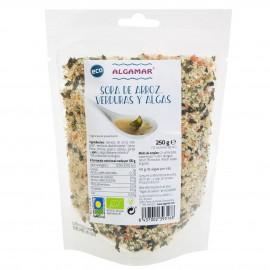 Sopa de Sémola y Algas Bio 250g
