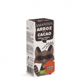 Mini Bebida de Arroz y Cacao Infantil Bio 200 ml