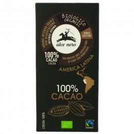 Chocolate Negro 100% Bio 50g