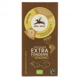 Chocolate Negro con Jengibre Bio 50g