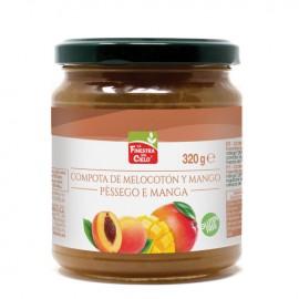 Compota de Mango y Melocotón Bio 320g