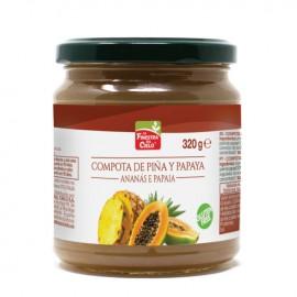 Compota de Papaya y Piña Bio 320g