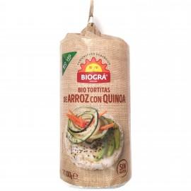 Tortitas de Arroz con Quinoa Bio 100g