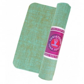 Esterilla Yoga & Yogini de Yute Verde 1550g 63X185
