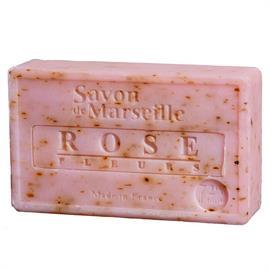 Jabon Natural de Marsella con Pétalos de Rosa 100g
