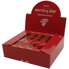 Incienso Japonés Morning Star Sándalo 50 Barritas 20g