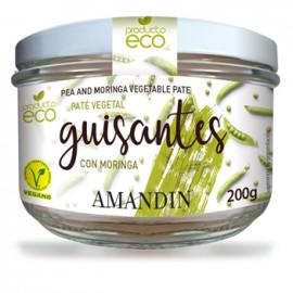 Paté Vegetal de Guisantes con Moringa Bio 200g