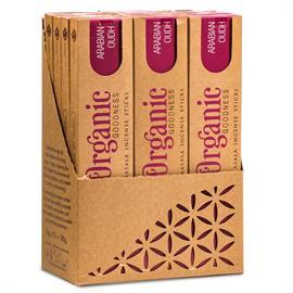Incienso Organic Goodness Masala Oudh Árabe 15g