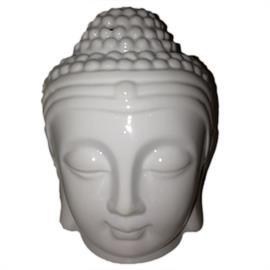 Quemador de Aceites Esenciales Buda Blanco