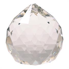 Cristal Arco Iris Bola Transparente Grande 4cm