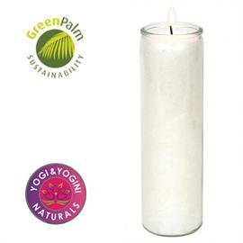 Velas Blancas de Estearina 21x6,5cm