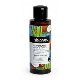 Aceite Solar para Cuerpo y Cabello de Coco y Aloe BioHappy Bio 100ml