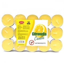 Pack 30 Velas Nightlights Citronela