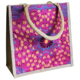 Bolso de Compras de Alpana Rosa 30X30cm